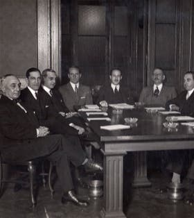 Comisión directiva de 1931 a 1934