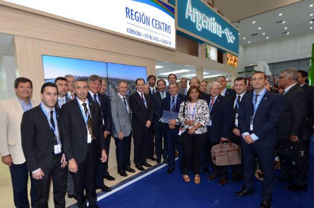 Los representantes de la región centro en Dubai