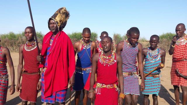 Tribu Masai, en Kenia
