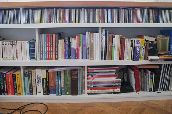Otra vez la biblioteca. Fue un post de Mi espacio que inspiró a muchísimas.