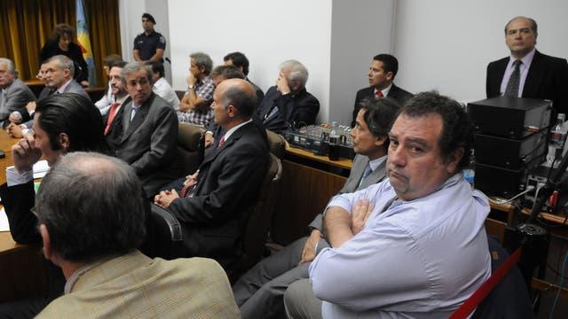El Tribunal oral en lo criminal N°1 de San Isidro el día que dio a conocer el veredicto. 2011