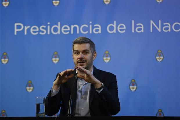 Peña, ayer, en conferencia de prensa
