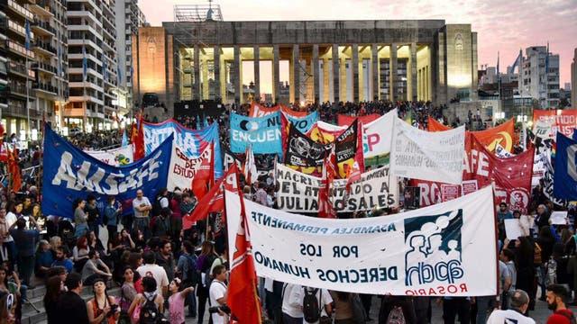 Marcha por Santiago Maldonado en Rosario