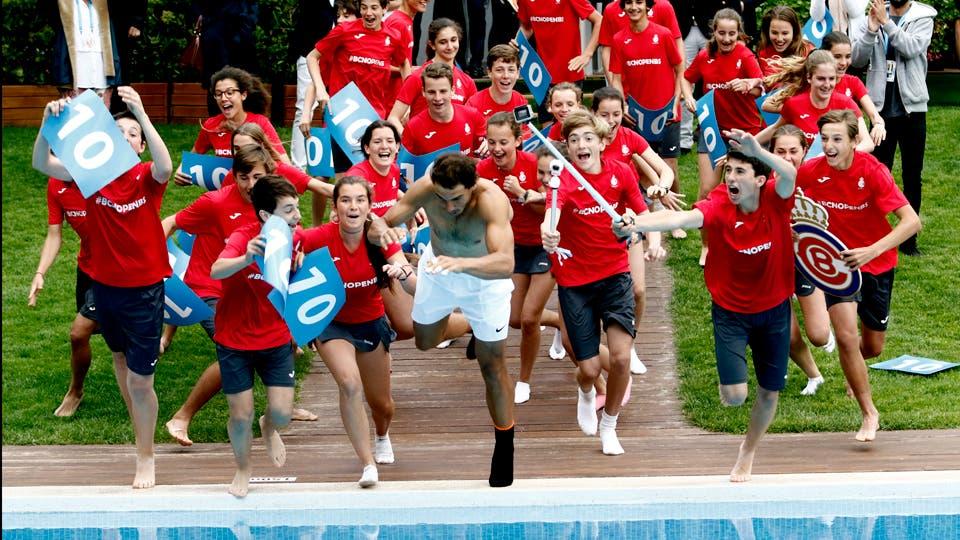 Rafa Nadal se consagró en el Conde de Godo de Barcelona tras vencer al austriaco Dominic Thiem por 6-4 y 6-1