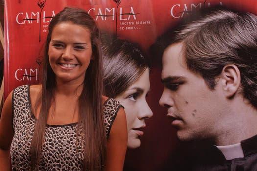Micaela Vázquez se emocionó con el musical que se basa en la vida de Camila O´ Gorman. Foto: Gentileza prensa Camila