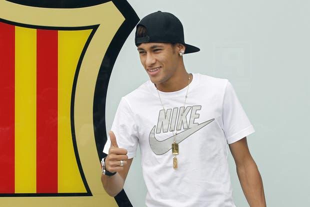 Insisto, Neymar es el pibe bazooka (se acuerdan?).  Foto:EFE