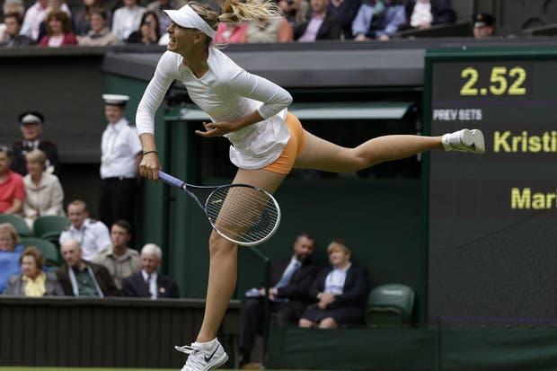 Sí, la foto robo de Sharapova. ¿Alguien tiene algo que decir?.  Foto:AP