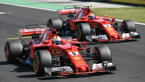 Ferrari logró el 1-2 en la clasificación del Gran Premio de Hungría