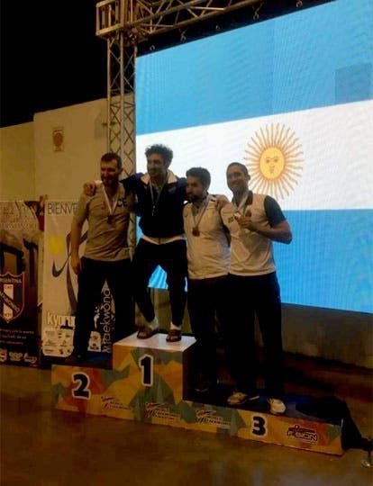 Martín Sio festeja su triunfo en el Open de Buenos Aires