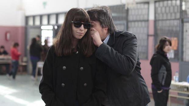 Florencia y Máximo, los hijos de Cristina Kirchner