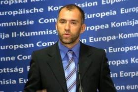 Olivier Bailly, vocero de la Comunidad Europea, organismo clave de la Unión.