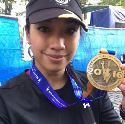 """""""Corrí con todo hoy y dejé todo en la ruta. Todo el entrenamiento rindió su fruto y clasifiqué para la maratón de Boston"""", fue el mensaje de la tramposa Cindy en su Instagram"""