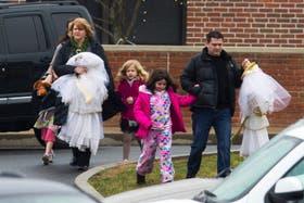 Los niños fueron retirados del colegio por sus familiares