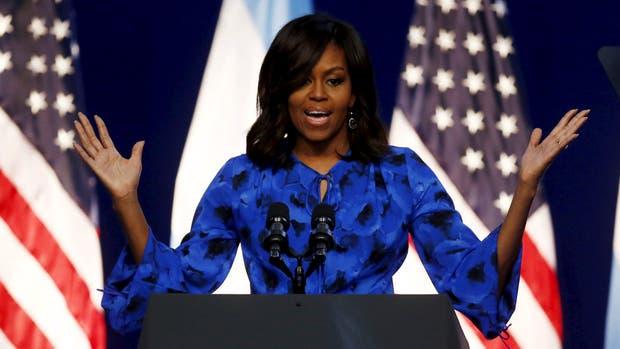 Michelle Obama habló sobre la valentía de las mujeres argentinas