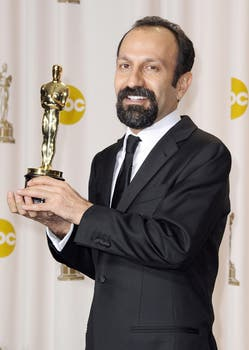 El director iraní Asghar Farhadi, ganador de mejor película extranjera  por A Separation. Foto: EFE