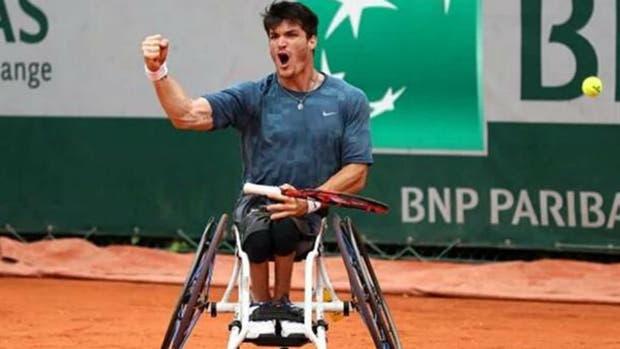 Gustavo Fernández no pudo en la final del Roland Garros — Una pena