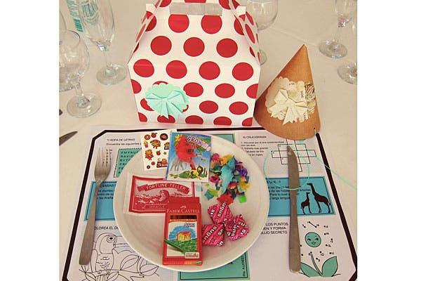 La cajita feliz, para los invitados más chicquitos. Foto: Gentileza Wedding Factory