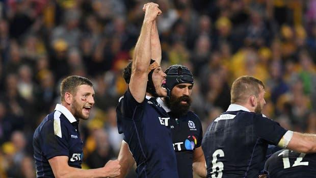 Escocia ganó en Sydney ante los Wallabis