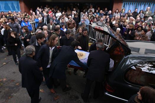El último adiós a Sabato. Foto: Reuters