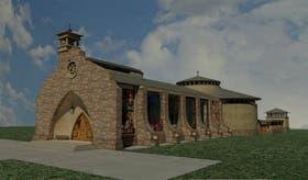 Se inició el movimiento de suelos para construir el templo