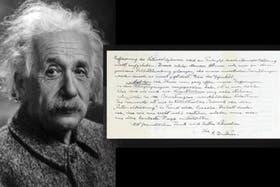Einstein envió una carta con pensamientos religiosos a su amigo Erik Gutkind