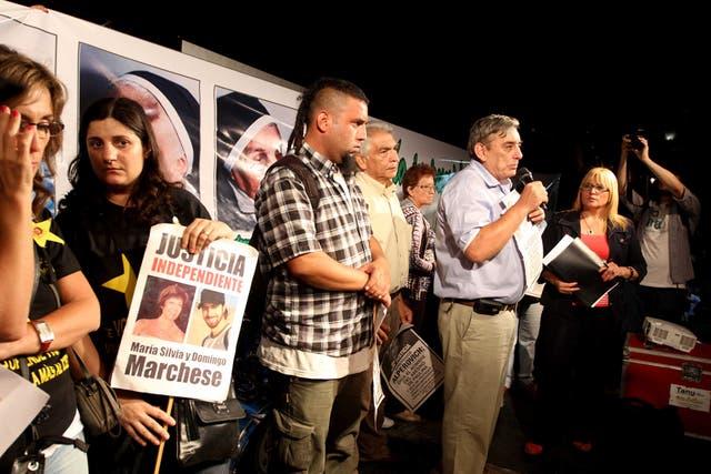 """""""Esto no es una simple marcha, es una clara condena social a la impunidad"""", dijo Lebbos"""