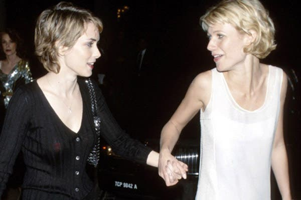 Winona Ryder y Gwyneth Paltrow, de mejor amigas a enemigas íntimas