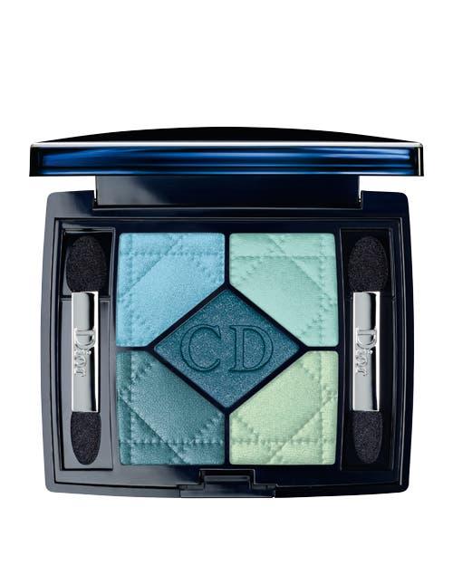 Sombras 5 couleurs tono blue lagoon ($480, Dior).