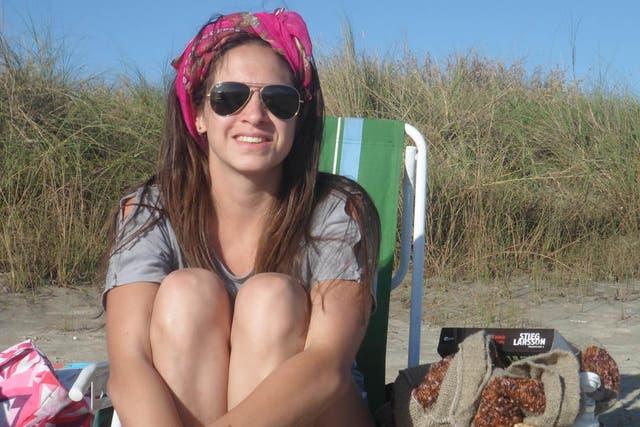 Anahí Garnica, una de las bomberas muertas en el incendio