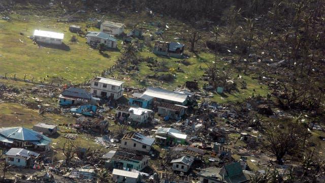 Winston fue el ciclón más fuerte jamás registrado en las islas Fiji, que en la noche del sábado al domingo azotó el archipiélago con vientos de más de 300 kilómetros por hora