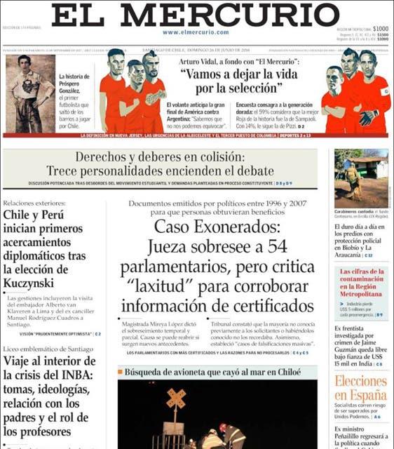 """Diario chileno: """"La Roja sale a comerse a los Che"""""""