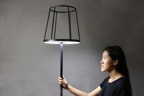 Una lámpara clásica con un toque de ingenio