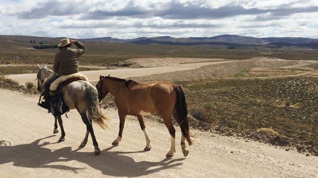 Travesía a caballo.