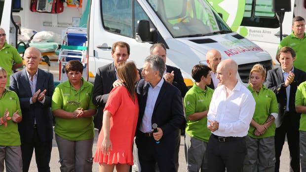 Macri, Vidal y Rodríguez Larreta lanzan el SAME Metropolitano