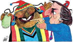 Evo Morales y Néstor Kirchner