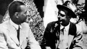 Jorge Luis Borges y Adolfo Bioy Casares en los primeros años de su amistad