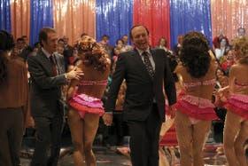 Nanni Moretti logra en El caimán una eficaz sátira sobre la era Berlusconi, combinadacon un homenaje al mundo del cine