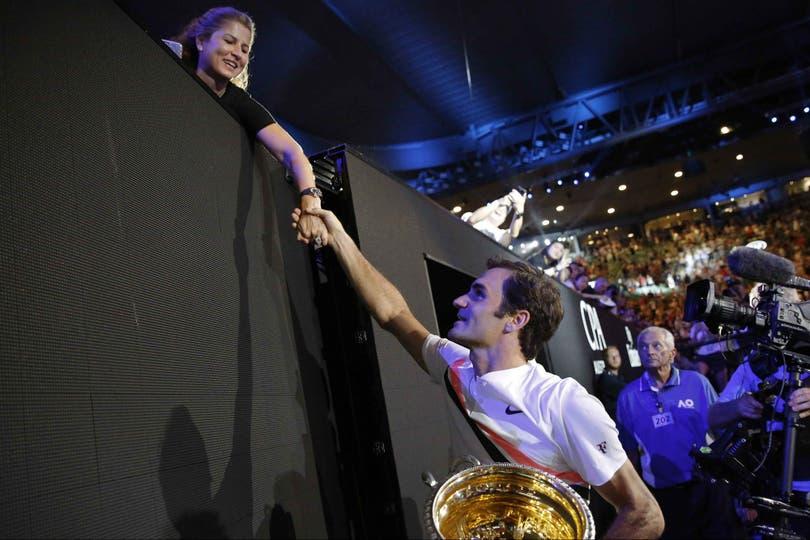 Roger Federer ganó su sexto Abierto de Australia y le agradeció a su esposa