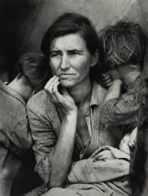 Dorothea Lange. Madre migrante, 1936