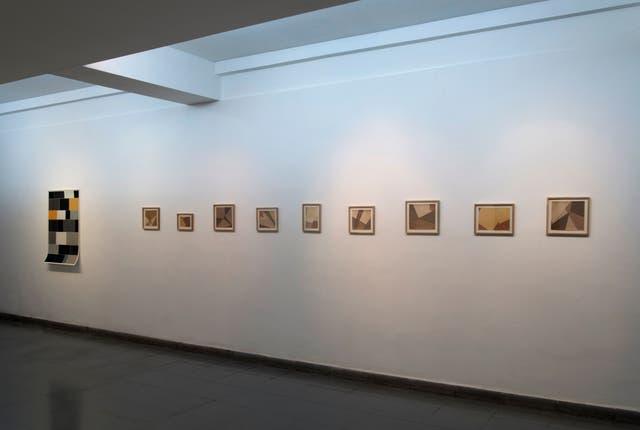 Vista de sala en el Centro Cultural Rojas