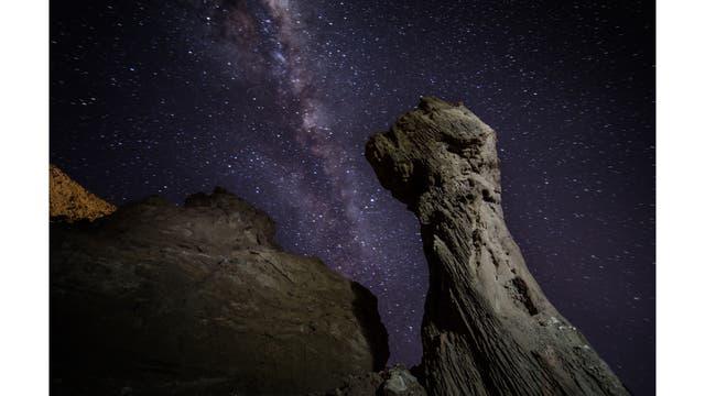 Primeras estribaciones del Valle de la Luna en las afueras de San Pedro de Atacama, Chile