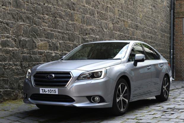 El nuevo Legacy, sedán por excelencia de la japonesa Subaru