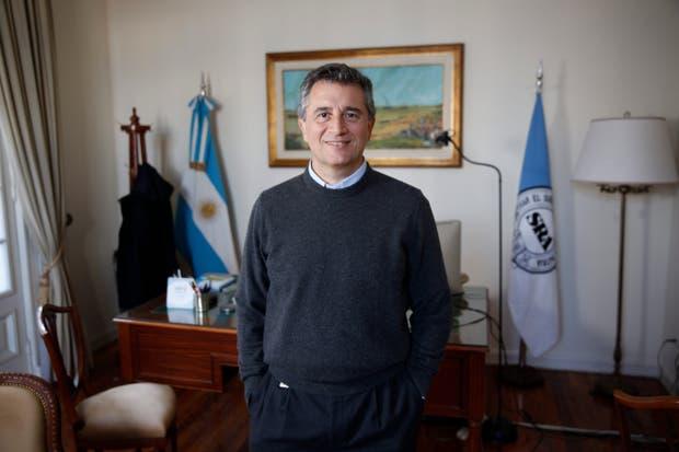 El presidente de la Rural, Luis Miguel Etchevehere, destacó que el Gobierno apunta a mejorar la competitividad