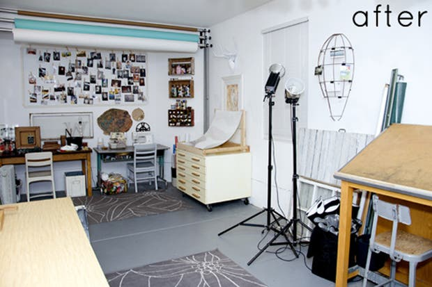 Un espacio multifuncional con toques cálidos. Foto: Design Sponge