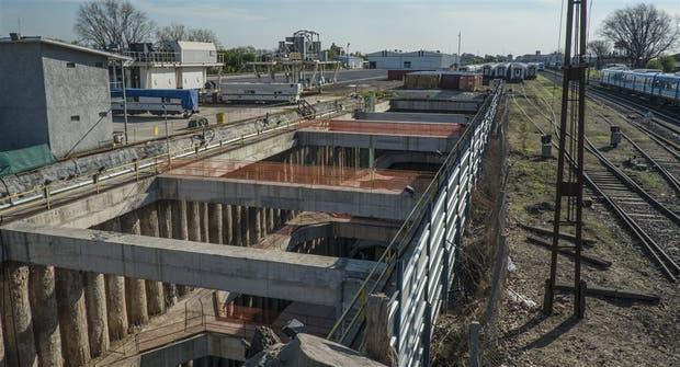 Las obras del soterramiento del Sarmiento, el proyecto más grande de Odebrecht en la Argentina
