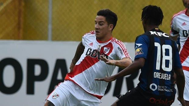 River solo pudo ganar dos partidos en Ecuador