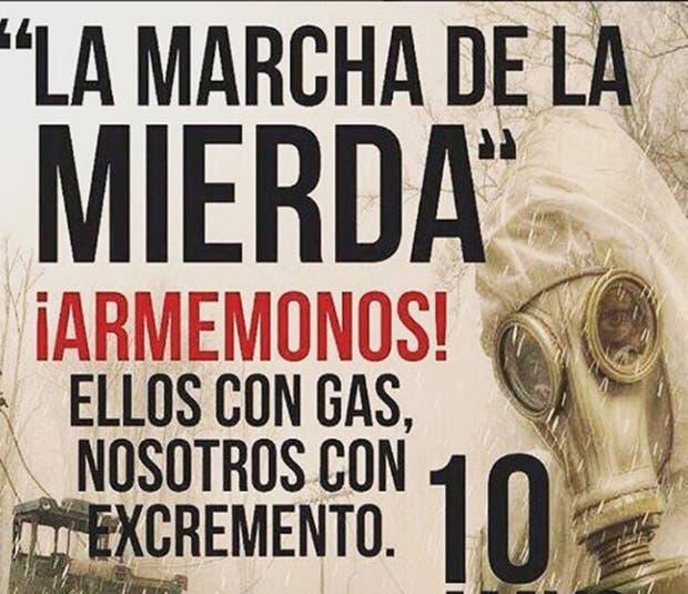 Venezuela: cócteles de excrementos, la nueva arma de la oposición al chavismo