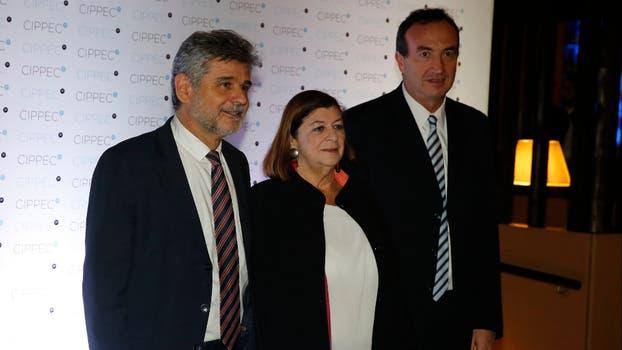 El ex ministro de Educación, Ciencia y Tecnología Daniel Filmus junto a María Luisa Storani. Foto: Fabián Marelli