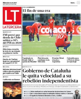 Diario La Tercera de Chile