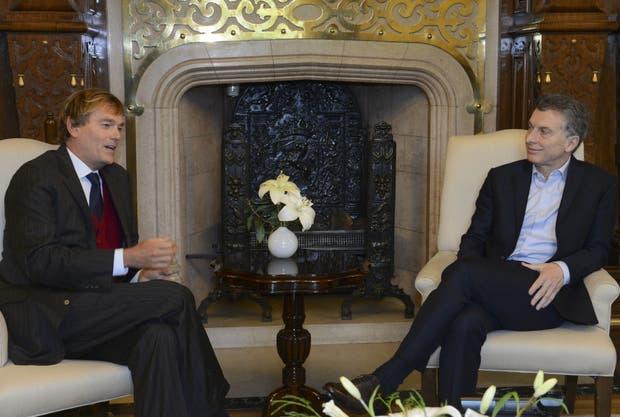 Macri recibió a los representantes de Turner